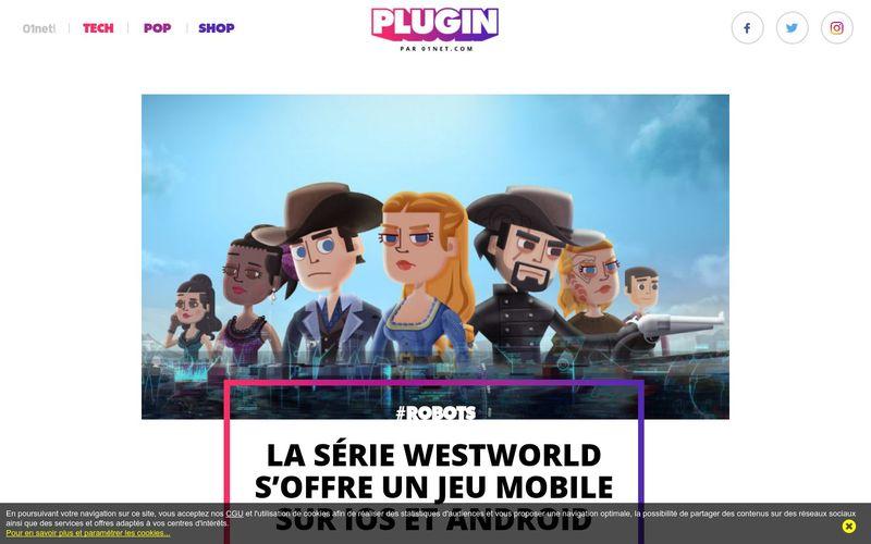 La série Westworld s'offre un jeu mobile sur iOS et Android