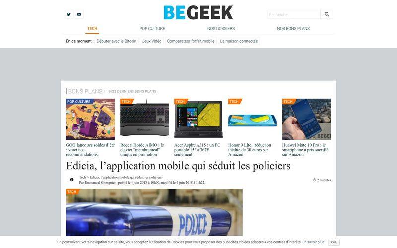 Edicia, l'application mobile qui séduit les policiers